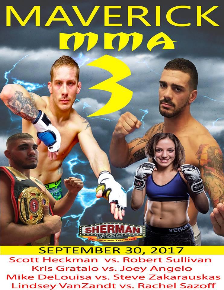 Van Zandt fight poster