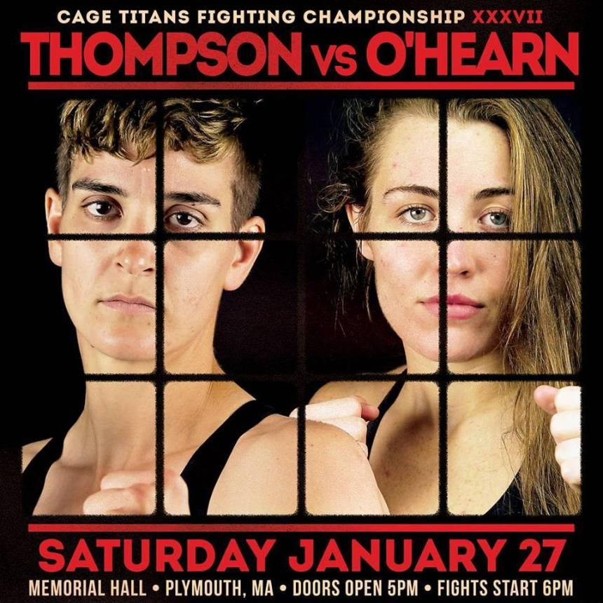 Thompson - O'Hearn poster